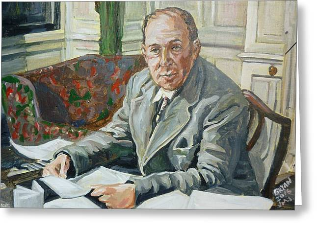 Jack C S Lewis Greeting Card
