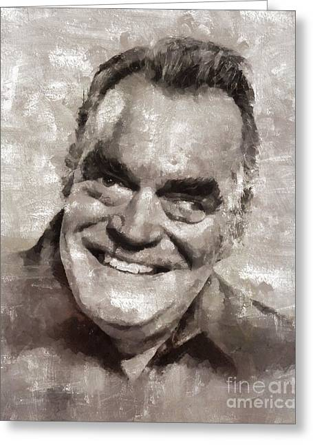 Jack Elam, Actor Greeting Card