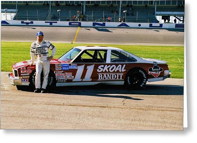Jack Ingram # 11 Skoal Nova At Daytona Greeting Card by David Bryant