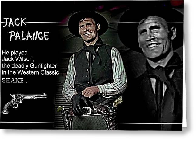 Jack  Palance Greeting Card