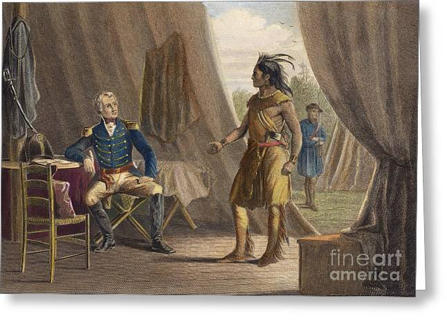1814 Greeting Cards - Jackson & Weatherford Greeting Card by Granger