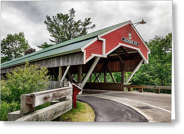 Jackson Covered Bridge Greeting Card