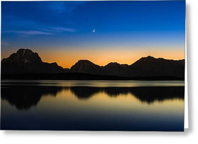 Jackson Lake Grand Tetons N P Greeting Card by Steve Gadomski
