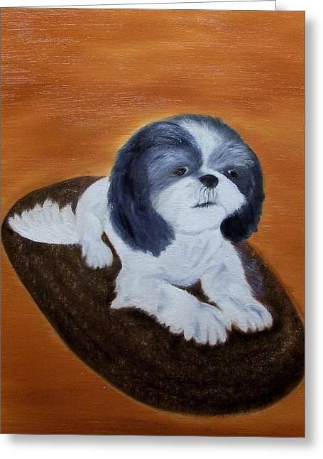 Jackson Greeting Card by Marie Lamoureaux