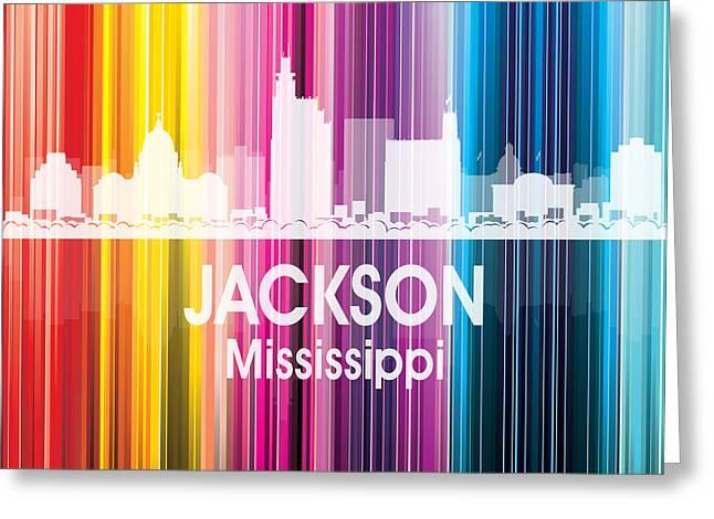 Jackson Ms 2 Squared Greeting Card