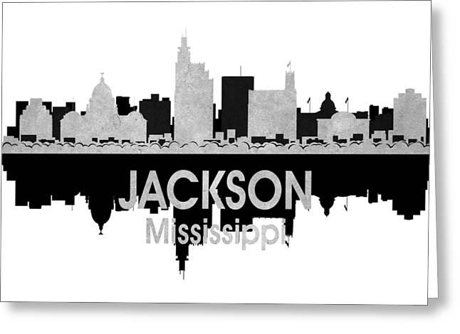 Jackson Ms 4 Squared Greeting Card