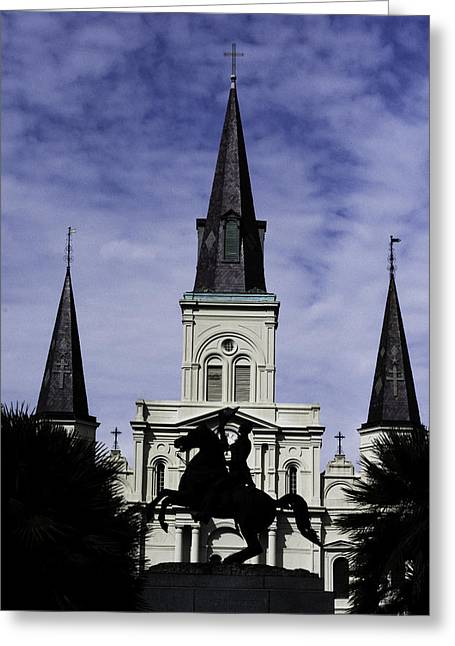 Jackson Square - Color Greeting Card