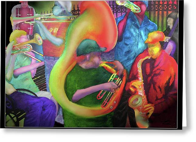 Jackson Square New Orleans Greeting Card by Larry Rice