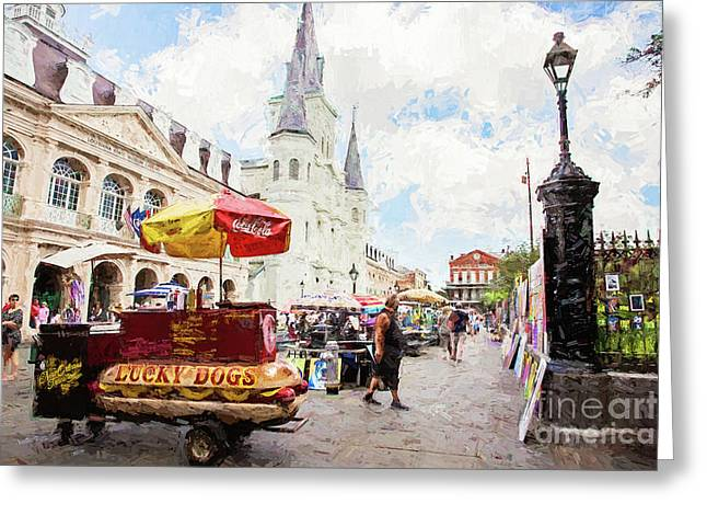 Jackson Square - New Orleans Greeting Card