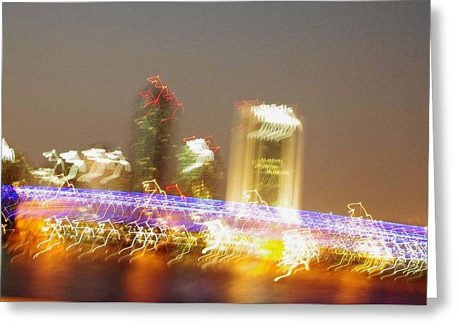 Jacksonville At 70mph Greeting Card