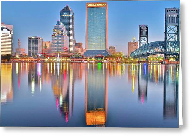 Jacksonville Florida Greeting Card by Frozen in Time Fine Art Photography