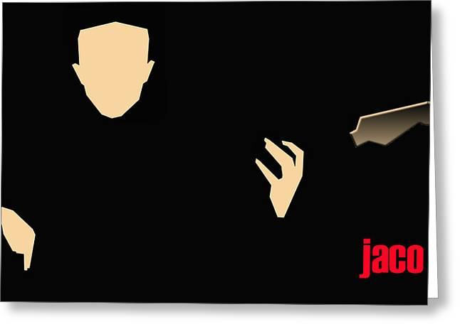 Jaco Pastorius Greeting Card