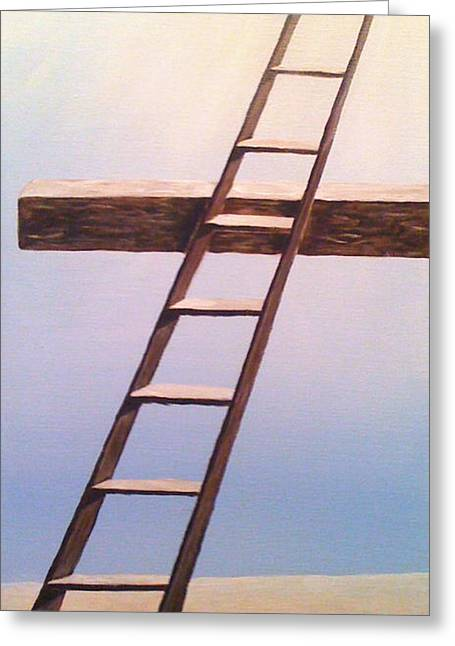 Jacob's Ladder Greeting Card