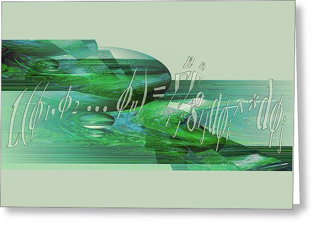 Greeting Card featuring the photograph Jade Enigma by Robert G Kernodle