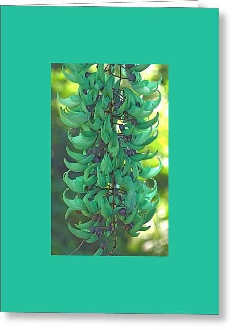 Jade Vine Greeting Card