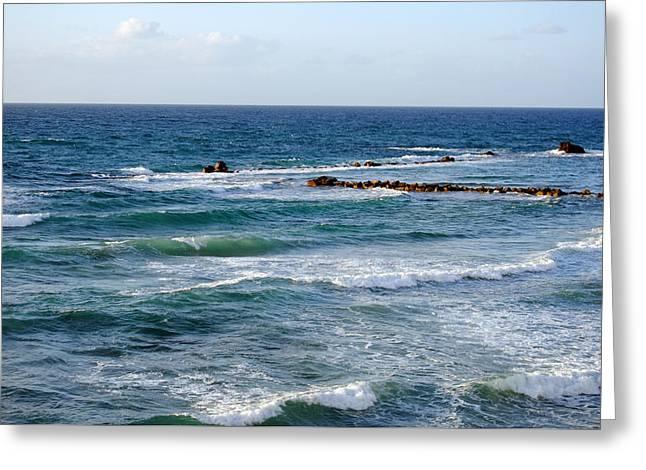 Jaffa Beach 10 Greeting Card
