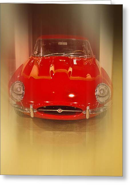 Jaguar E-type 1960s Greeting Card