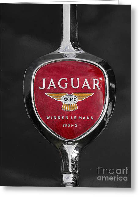Jaguar Medallion Greeting Card