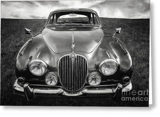 Jaguar Mk II 3.8 Litre Greeting Card