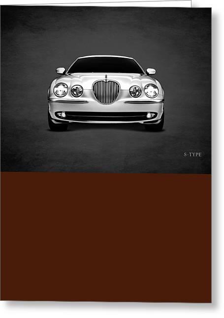 Jaguar S Type Greeting Card by Mark Rogan