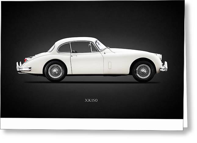 Jaguar Xk150 Greeting Card by Mark Rogan