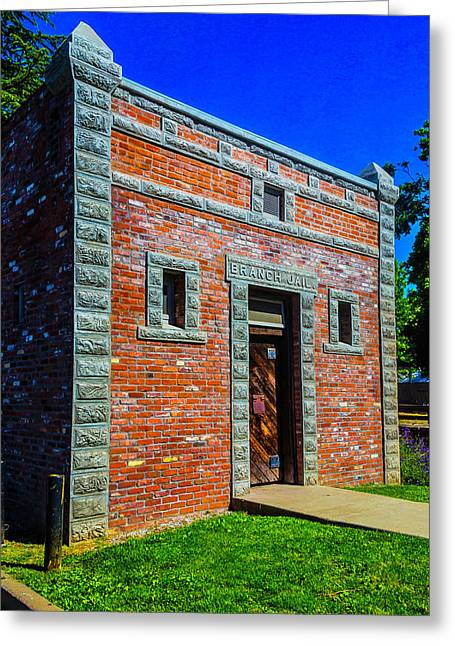Jail Jamestown Greeting Card by Garry Gay