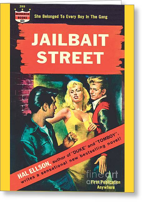 Jailbait Street Greeting Card