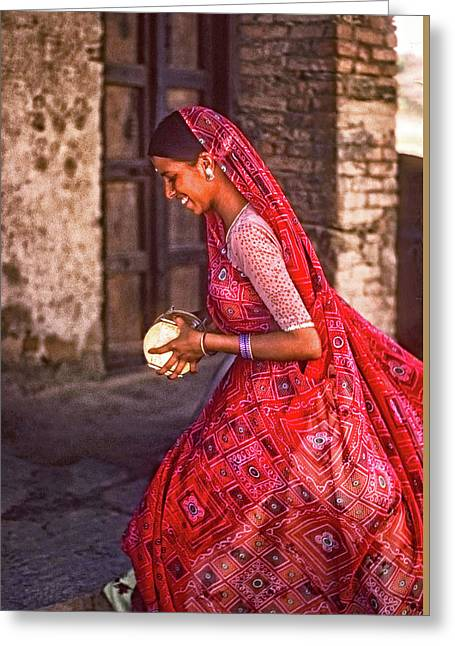 Jaisalmer Beauty 2 Greeting Card