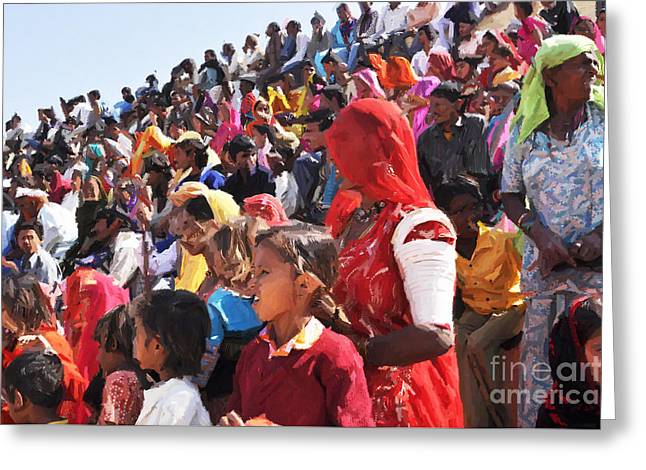 Jaisalmer Desert Festival-10 Greeting Card