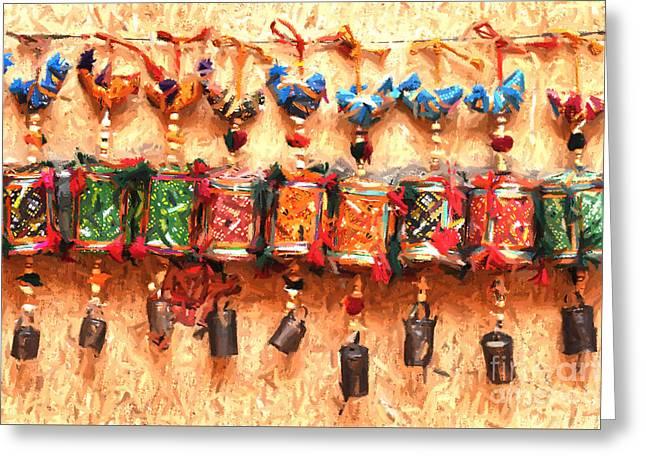 Jaisalmer Desert Festival-2 Greeting Card