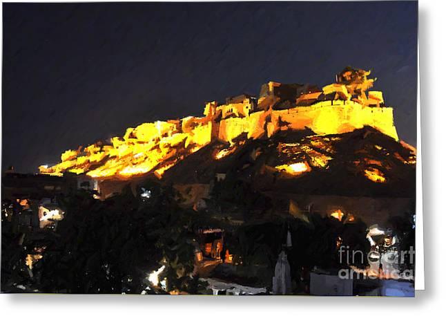 Jaisalmer Desert Festival-3 Greeting Card