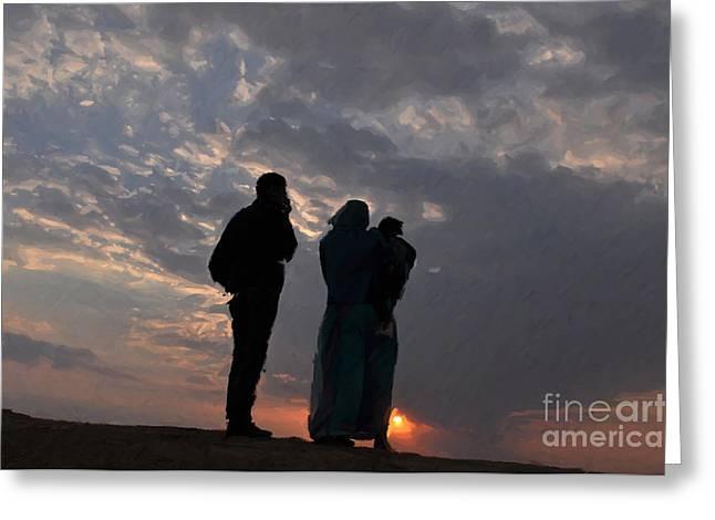 Jaisalmer Desert Festival-8 Greeting Card