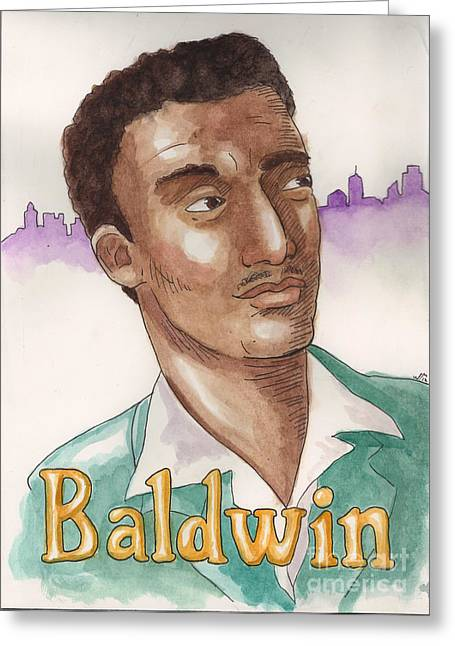 James Baldwin Greeting Card