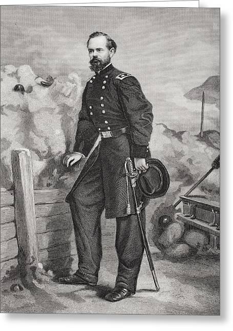 James Birdseye Mcpherson 1828 To 1864 Greeting Card by Vintage Design Pics