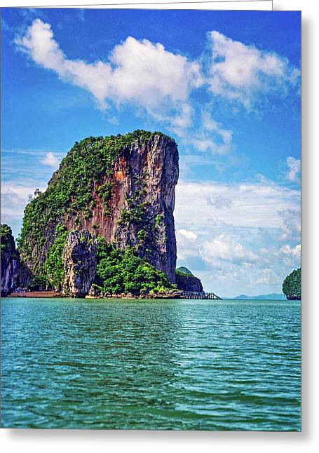 James Bond Island Greeting Card by Steve Harrington