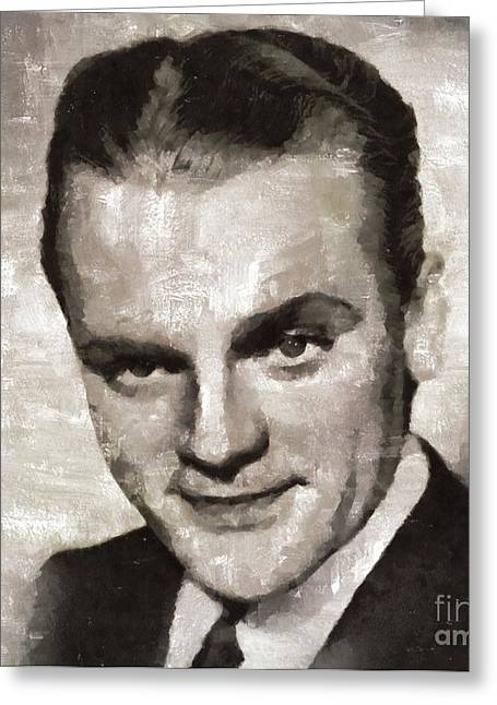 James Cagney Hollywood Actor Greeting Card