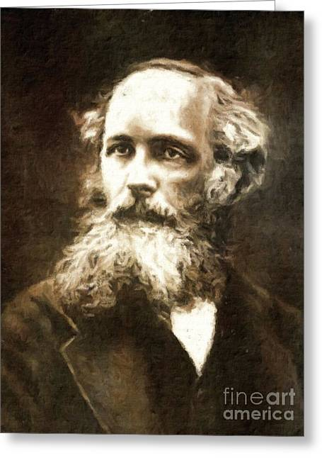 James Clerk Maxwell, Scientist By Mary Bassett Greeting Card