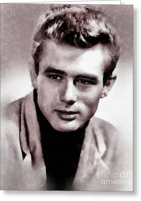 James Dean Hollywood Legend Greeting Card
