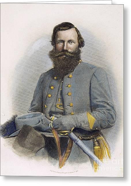 James E. B. Jeb Stuart Greeting Card