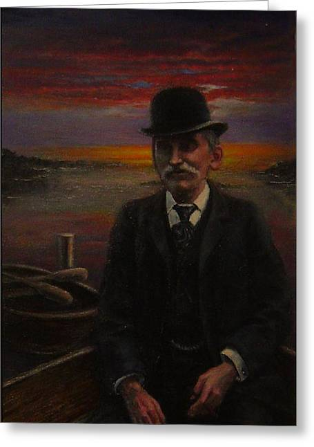 James E. Bayles Sunset Years Greeting Card