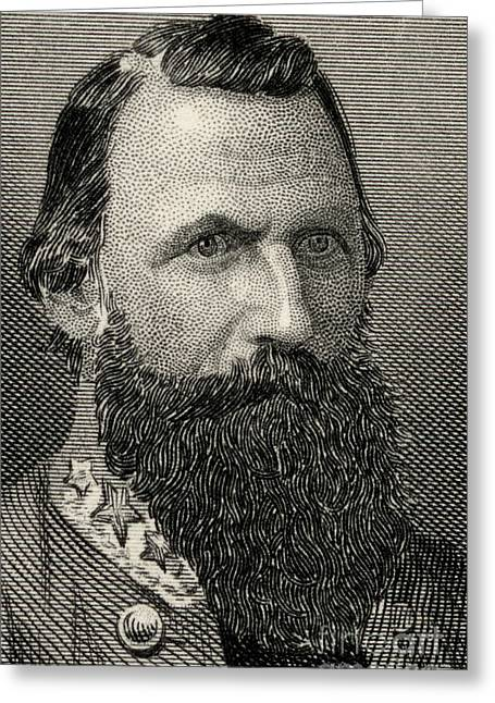 James Ewell Brown  Jeb Stuart Greeting Card