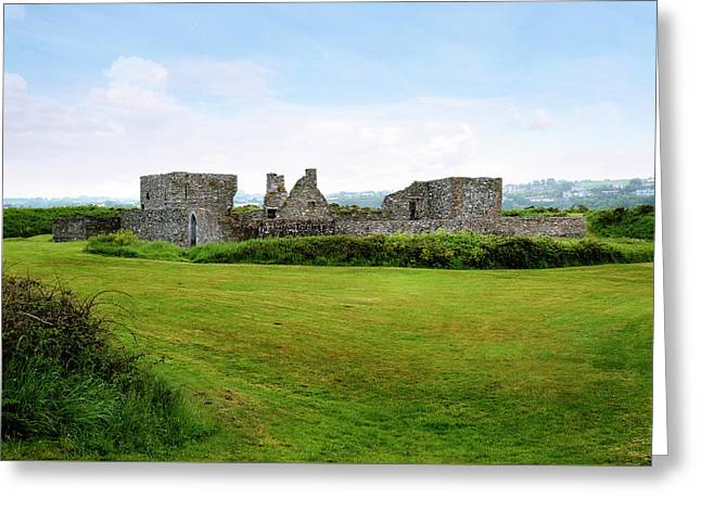 James Fort - Ireland Greeting Card by Joana Kruse