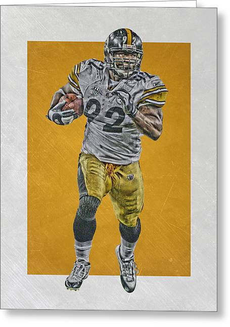 James Harrison Pittsburgh Steelers Art Greeting Card