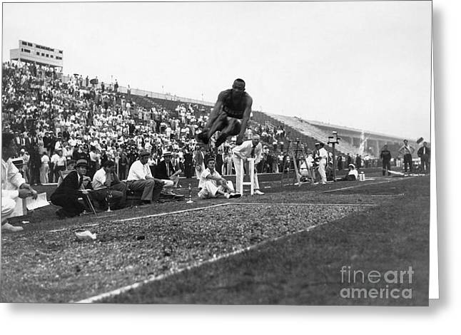 James Jesse Owens Greeting Card by Granger