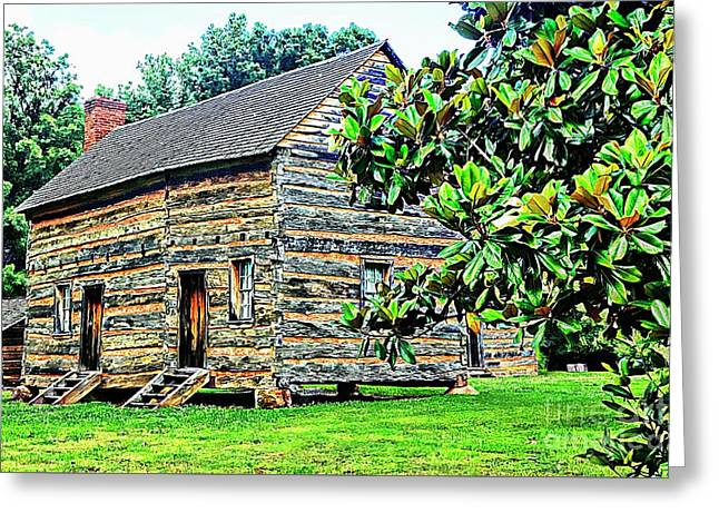 James K. Polk Boyhood Home Greeting Card by Bob Pardue