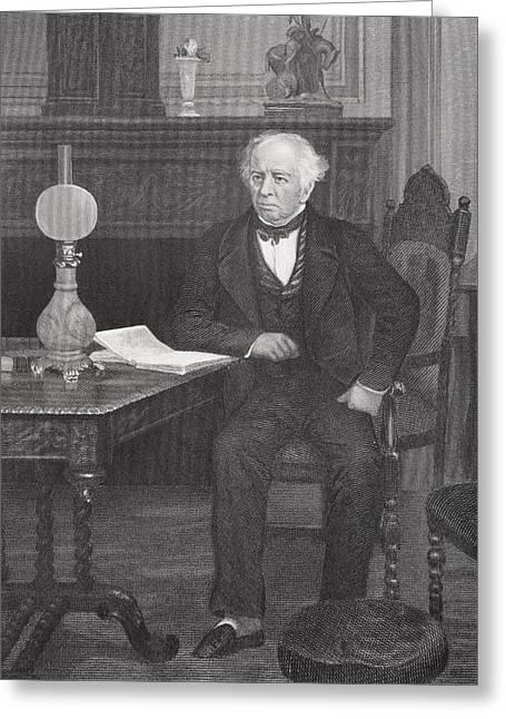 James Kent 1763-1847. American Jurist Greeting Card