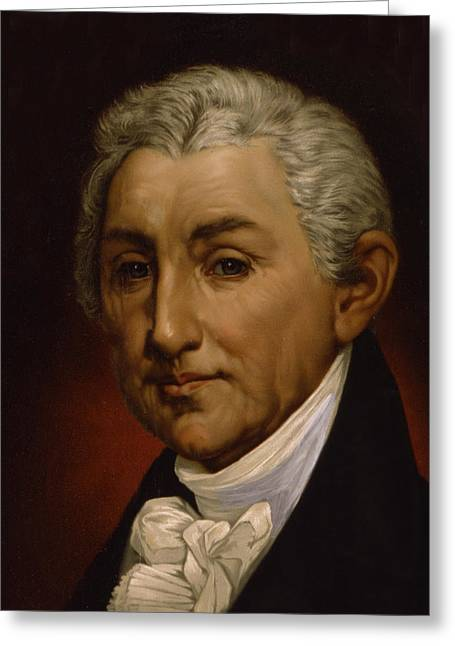 James Monroe - President Of The United States Of America Greeting Card