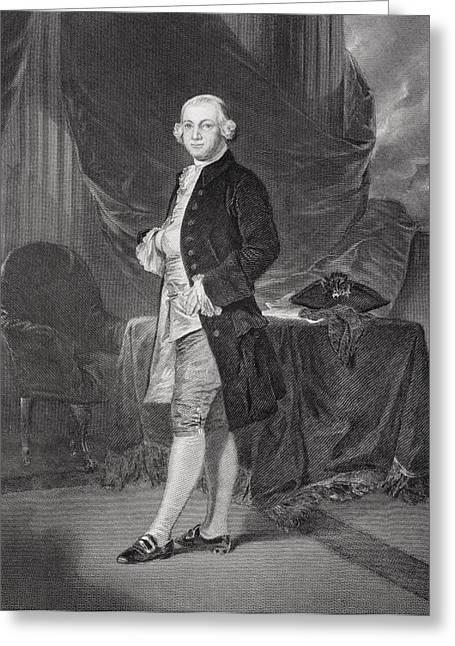 James Otis 1725 - 1783. Lawyer Greeting Card