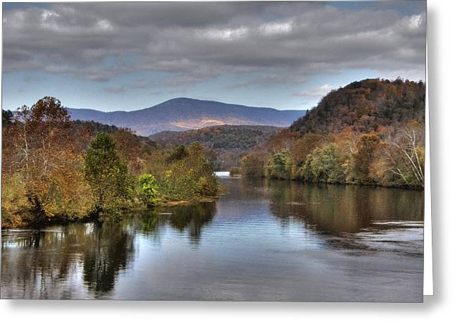 James River 1 Greeting Card by Michael Edwards