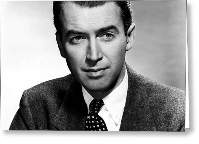 James Stewart 1948 Greeting Card by Mountain Dreams